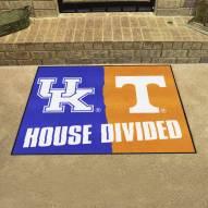 Kentucky Wildcats/Tennessee Volunteers House Divided Mat
