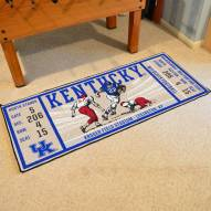Kentucky Wildcats Ticket Runner Rug
