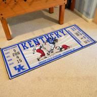 Kentucky Wildcats Ticket Runner Rug