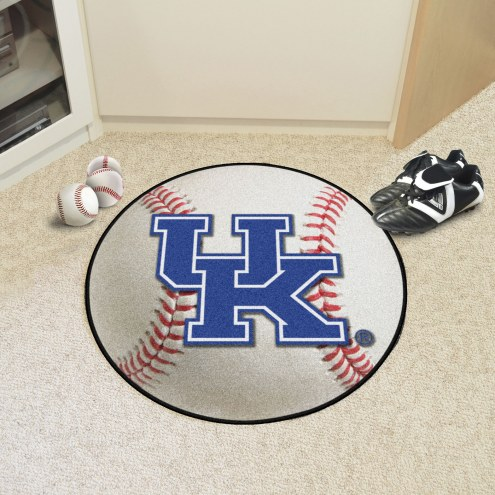 """Kentucky Wildcats """"UK"""" Baseball Rug"""