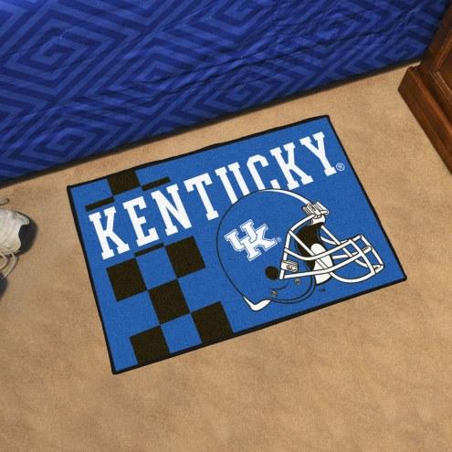 Kentucky Wildcats Uniform Inspired Starter Rug