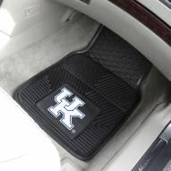 Kentucky Wildcats Vinyl 2-Piece Car Floor Mats