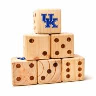 Kentucky Wildcats Yard Dice