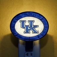 Kentucky Wildcats NCAA Stained Glass Night Light