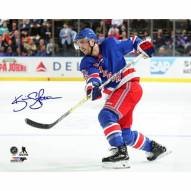 Kevin Shattenkirk Signed New York Rangers Opening Night 16 x 20 Photo