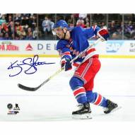 Kevin Shattenkirk Signed New York Rangers Opening Night 8 x 10 Photo