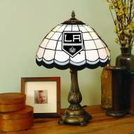 Los Angeles Kings NHL Stained Glass Table Lamp