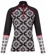 Krimson Klover Women's Nordic Snowflake 1/4 Zip Base Layer Top