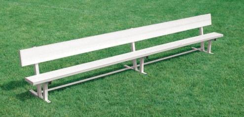 Kwik Goal 15' Bench with Back