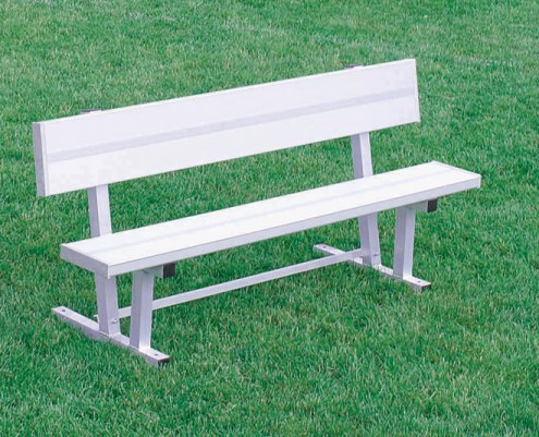 Kwik Goal 6' Bench with Back