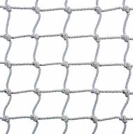 Kwik Goal 8' x 24' Soccer Net 3MM 120MM Mesh - Black/White Striped