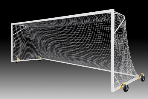 Kwik Goal Fusion High School Match Soccer Goal with Swivel Wheels