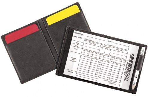 Kwik Goal Leather Soccer Referee Wallet