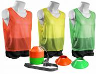 Kwik Goal Mini Cone and Vest Pack
