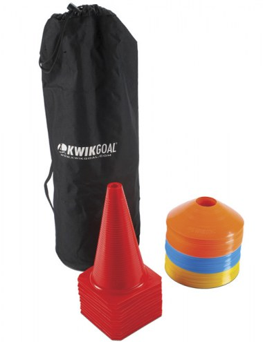 Kwik Goal Practice Cone and Carry Package
