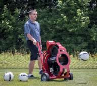 Kwik Goal Strike Attack Soccer Ball Machine
