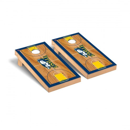La Salle Explorers Basketball Court Cornhole Game Set