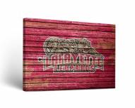 Lafayette Leopards Weathered Canvas Wall Art