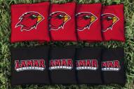 Lamar Cardinals Cornhole Bag Set