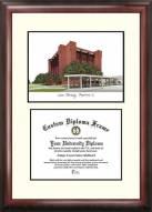 Lamar Cardinals Scholar Diploma Frame