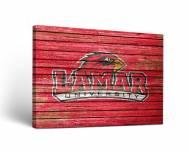 Lamar Cardinals Weathered Canvas Wall Art