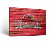 Lamar Cardinals Weathered Canvas Wall Art