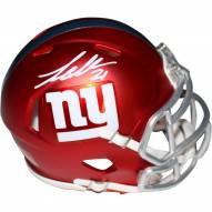 Landon Collins Signed New York Giants Blaze Speed Mini Helmet