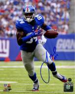 Larry Donnell Signed Running 8 x 10 Photo