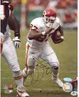 Larry Johnson Chiefs Action 8 x 10 Photo (Imperfect)