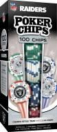Las Vegas Raiders 100 Poker Chips