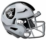 """Las Vegas Raiders 12"""" Helmet Sign"""