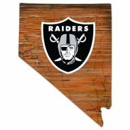 """Las Vegas Raiders 12"""" Roadmap State Sign"""