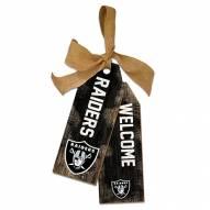 """Las Vegas Raiders 12"""" Team Tags"""