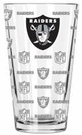Las Vegas Raiders 16 oz. Sandblasted Pint Glass