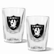 Las Vegas Raiders 2 oz. Prism Shot Glass Set