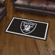 Las Vegas Raiders 3' x 5' Area Rug