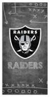 "Las Vegas Raiders 6"" x 12"" Chalk Playbook Sign"