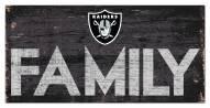 "Las Vegas Raiders 6"" x 12"" Family Sign"