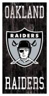 "Las Vegas Raiders 6"" x 12"" Heritage Logo Sign"