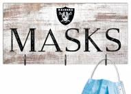 "Las Vegas Raiders 6"" x 12"" Mask Holder"