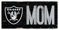 """Las Vegas Raiders 6"""" x 12"""" Mom Sign"""