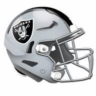 Las Vegas Raiders Authentic Helmet Cutout Sign