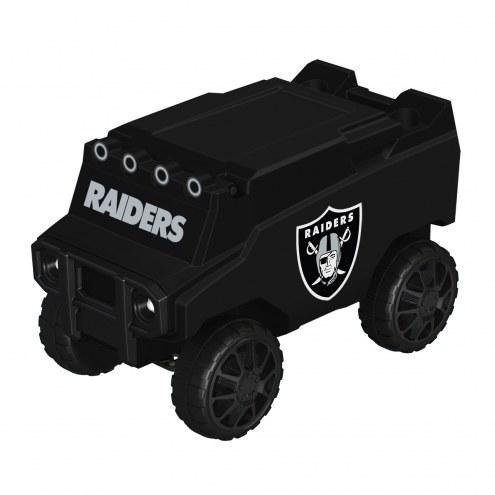 Las Vegas Raiders Blackout Remote Control Rover Cooler