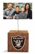 Las Vegas Raiders Block Spiral Photo Holder