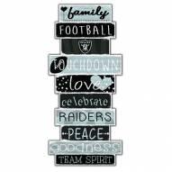 Las Vegas Raiders Celebrations Stack Sign