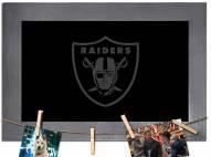 Las Vegas Raiders Chalkboard with Frame