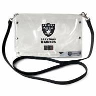 Las Vegas Raiders Clear Envelope Purse