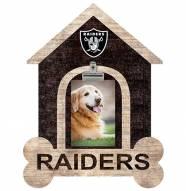 Las Vegas Raiders Dog Bone House Clip Frame