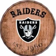 "Las Vegas Raiders Established Date 16"" Barrel Top"