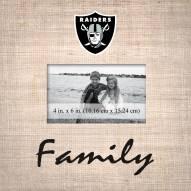 Las Vegas Raiders Family Picture Frame